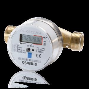 Elektronischer Verschraubungs-Wasserzähler Q water WFC36