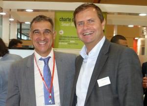 Phillipe Passemard (Suez) & Dieter Berndt (Qundis)