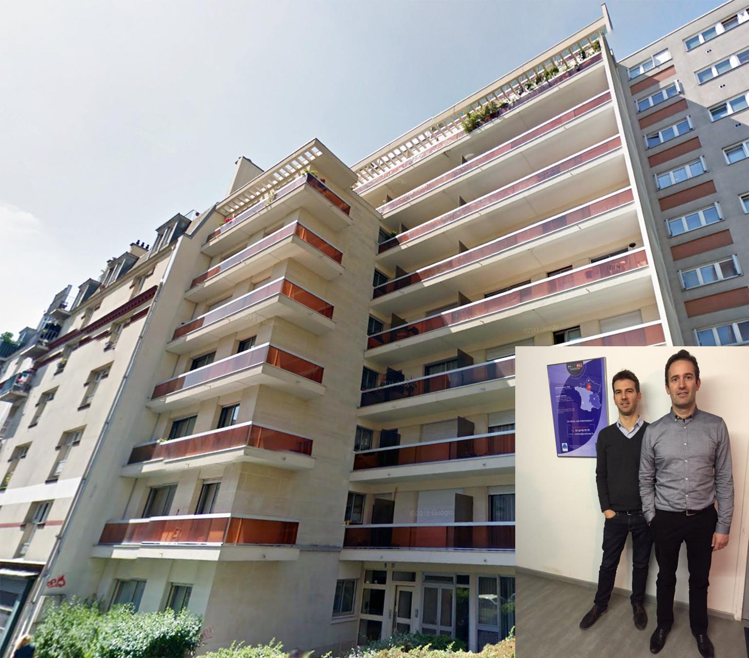Immeuble rue du Télégraphe, Paris 75020 (Stéphane & Florent Giacomoni)